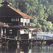 Chalet at Gayana Island, Kota Kinabalu, Sabah