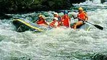 Kiulu water rafting, Sabah