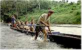 Iban Indigenous Longboat Sarawak Eco Tours