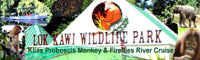 Lok Kawi Wildlife Park & Klias Proboscis Monkeys Fireflies River Cruise